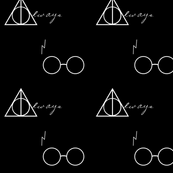 Hallows and Glasses Black
