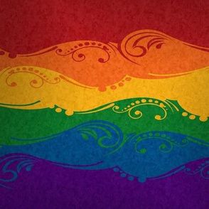 Rainbow Ornamental Flag