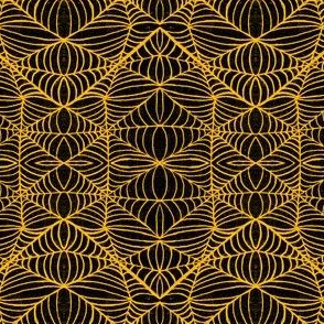 Webs, black-orange