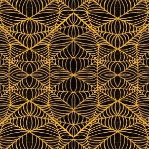 Webs, black-orange