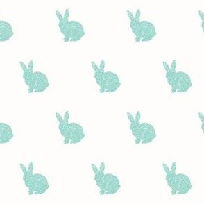 Dark mint bunny