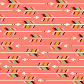 Horizontal Arrows: Coral