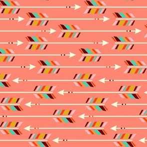 Small Arrows: Horizontal Coral