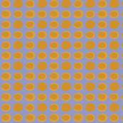 purple orange polka dots