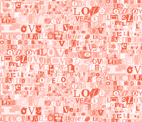 Letters of L.O.V.E. (Red)