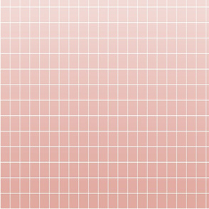 Ombré grid rose repeat
