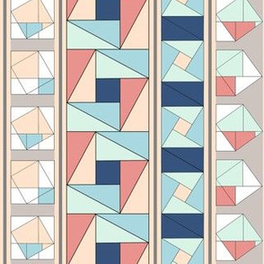 Pythagorean Stripes,Vertical
