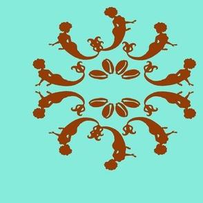 Yemaya mandala