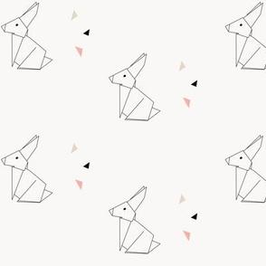 Geomatic Origami Bunny