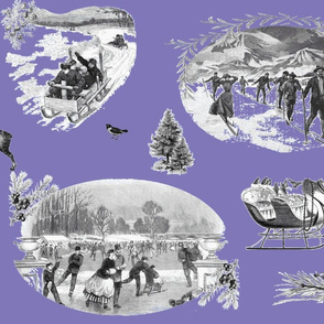 Winter_Toile Violet