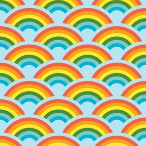 Rainbows! Rainbows! Rainbows! (light blue)