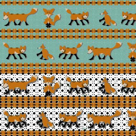 Circle Fox Stripe 2