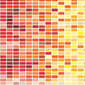 Color Chips in WARM