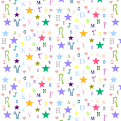 ABC stars -medium