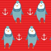 nautical penguin