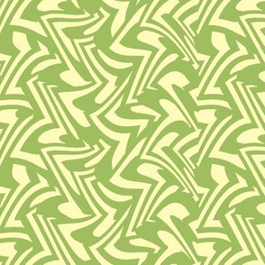 zigzag wave in Green Tea