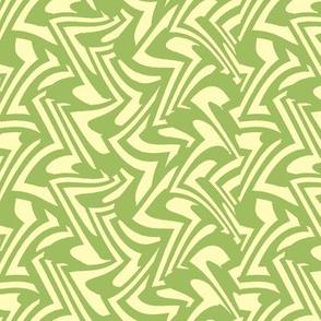zigzag wave in Green Tea