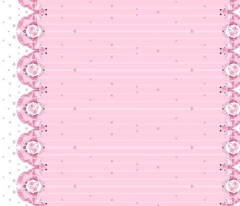 Retro NES Border Print Pink
