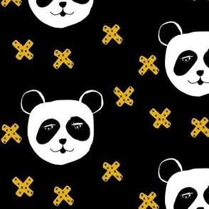 panda and x's mustard