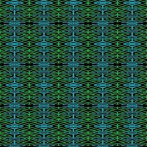 Tangled Seaweed Green Aqua