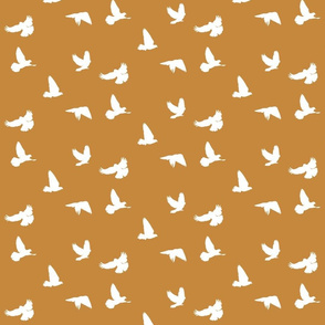Doves in Flight, Toffee