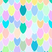 Mermaid Scales Rainbow Pearl