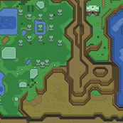 Link to the Past Light World Right side