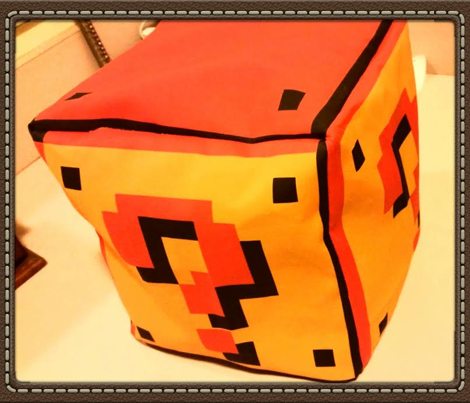 Question Mark Cube Plushie or Quilt