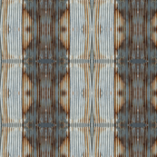 Rusty Fence, Ikat 1