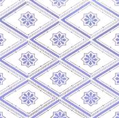 swedish_blue_flower_wall_paper_retro