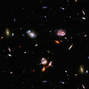 Ultra Deep Field Galaxy Cluster