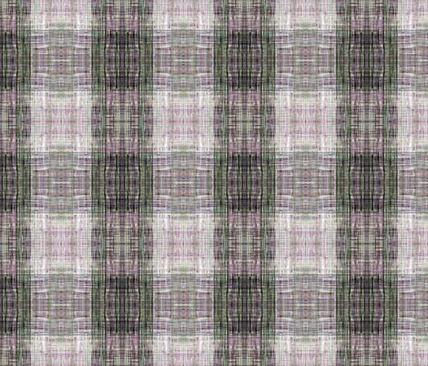 Tweedy faux plaid pink