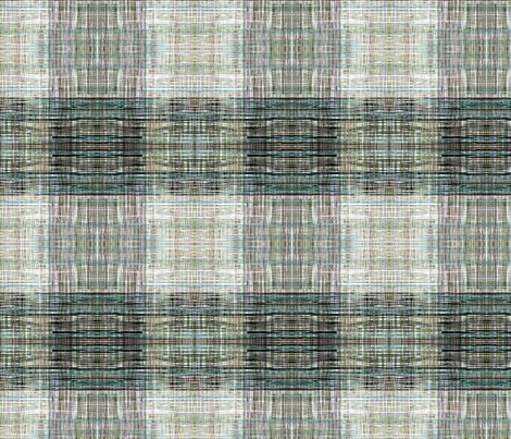 Tweedy faux plaid green