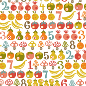 Fruit & Mushroom Count