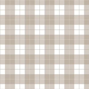 Umber Brown Plaid