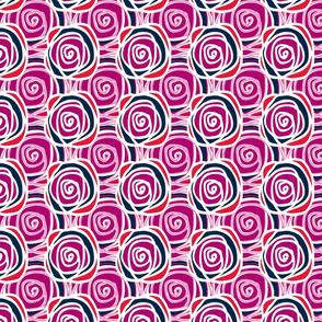 Bed of Roses - Spring Multi Swirl
