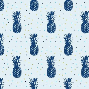 Pineapples // blue