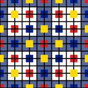 Mondrian Cusinaire plaid