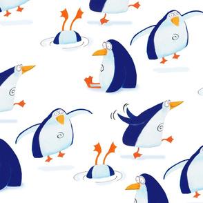 Penguin's day off