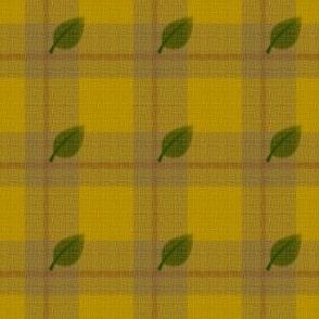 gingham mesh sunflower