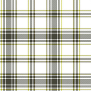 hikers' plaid - khaki and yellow