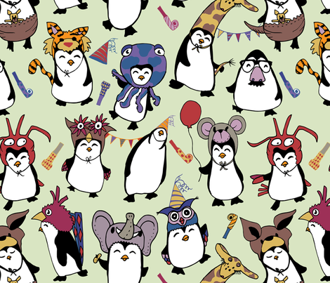 Party Penguins in Disguise