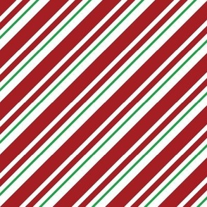Candy Cane Stripe Green