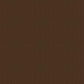 1:6 Scale Herringbone - Dark Brown