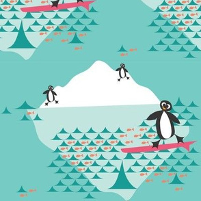 penguins_surf