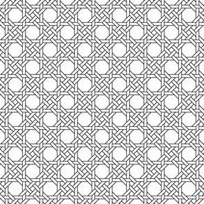 octagon X weave
