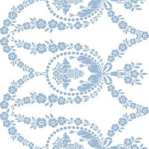 Neoclassical Birds in blueberry