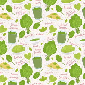 spinach pattern