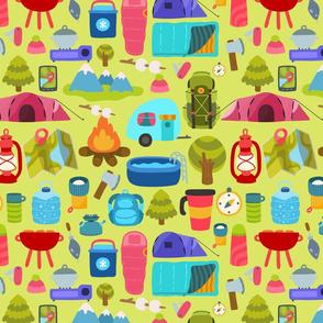 camp pattern