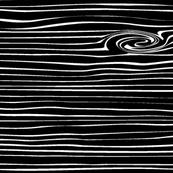 Woodgrain // Black and White